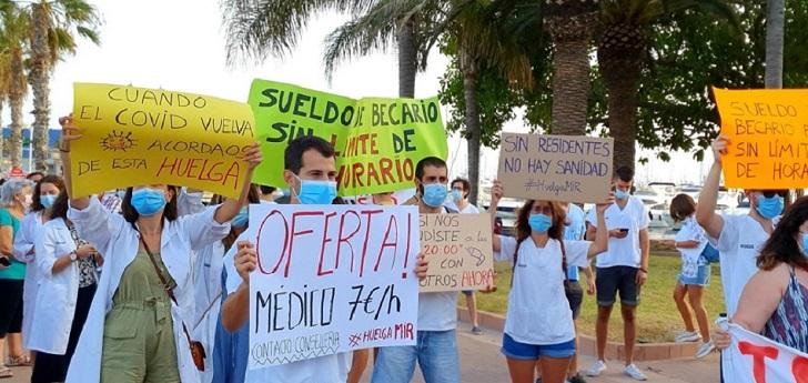 Los MIR de Valencia recaban apoyos y presionan para reanudar las negociaciones