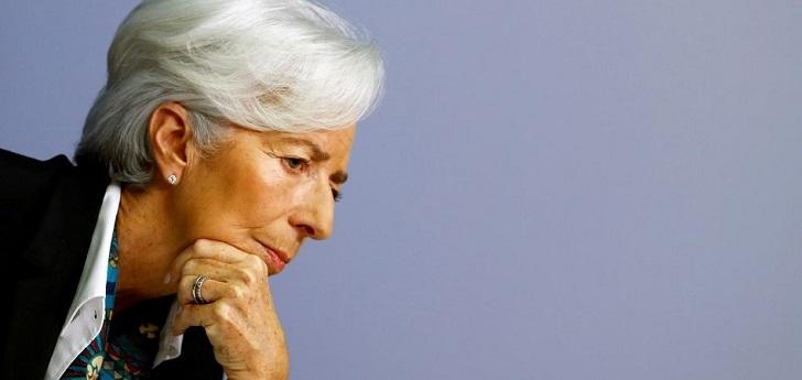 El BCE advierte que el PIB de la eurozona se hundirá hasta un 12% en 2020