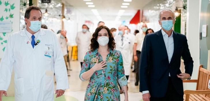 Madrid ampliará el Hospital Niño Jesús con un pabellón de 9.000 metros cuadrados