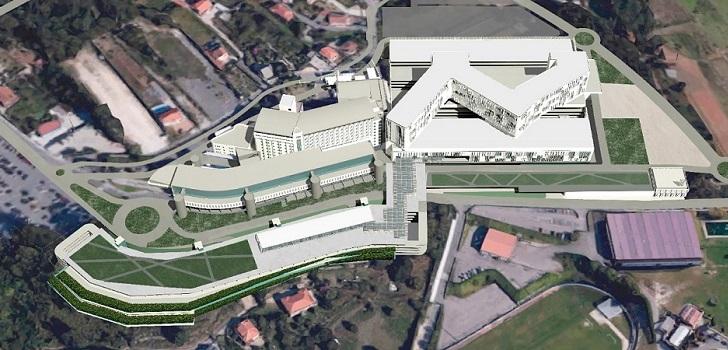 Galicia adjudica por 122 millones las obras de la primera fase del Hospital Gran Montecelo