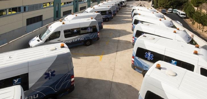 El grupo de ambulancias La Pau contratará quince técnicos en emergencias