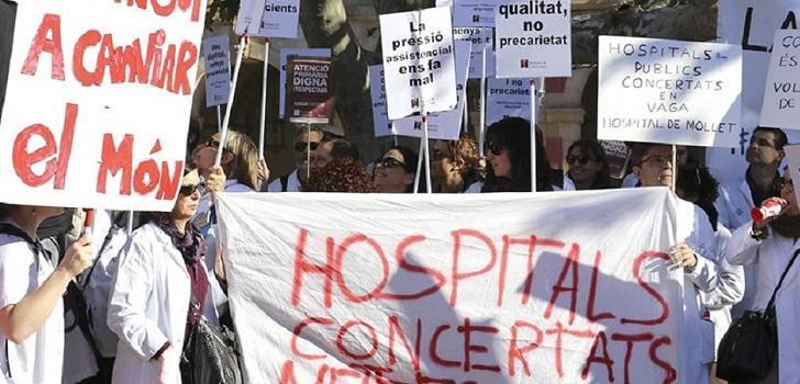 Los médicos catalanes convocan una huelga de tres días