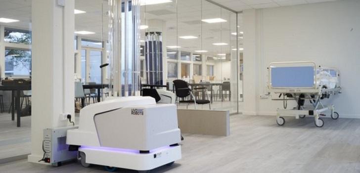 El Hospital Parc Taulí recibe de la CE un robot para la desinfección del Covid-19