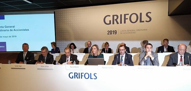 Grifols reduce un 10% su beneficio neto en el primer semestre, hasta 287 millones