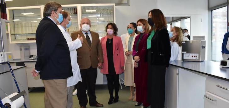 Andalucía invierte 400.000 euros en el nuevo Laboratorio de Salud Pública de Jaén