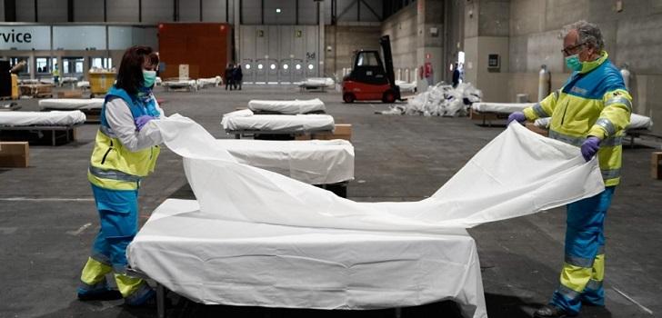 Hospitales de campaña: más de 7.000 camas para afrontar la crisis del Covid-19