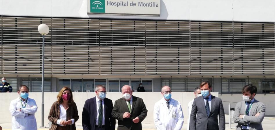 Andalucía prevé invertir más de cuatro millones en la ampliación del Hospital de Montilla