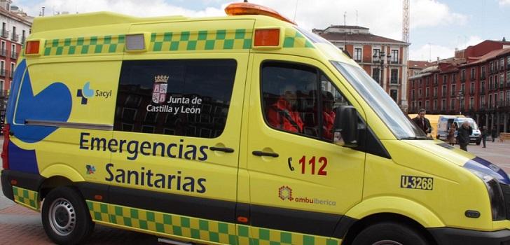 Castilla y León renueva con Ambuiberica el servicio de transporte sanitario en Valladolid por 12,6 millones