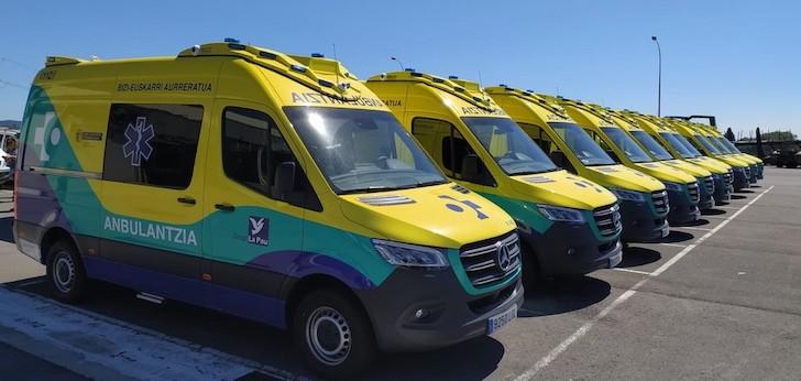 La Pau se adjudica el servicio de transporte sanitario en País Vasco por 112 millones de euros
