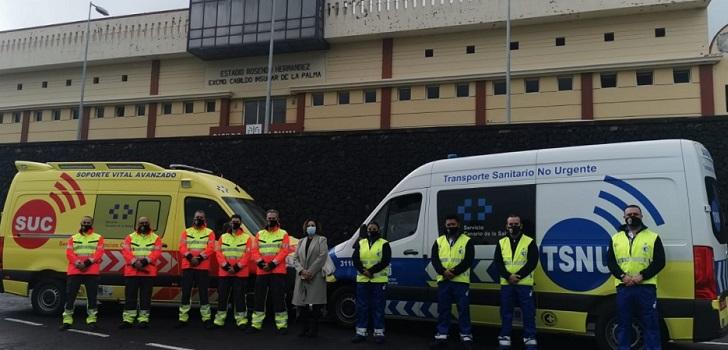 Canarias pone en marcha un nuevo parque móvil de transporte sanitario por 12,5 millones