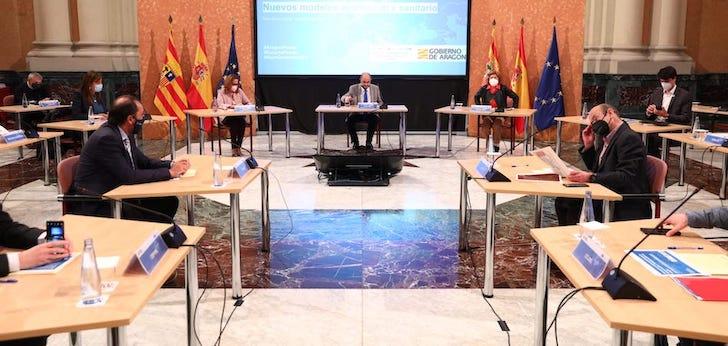 Aragón aspira a 570 millones de inversión de fondos europeos en proyectos del sector sanitario
