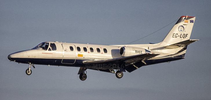 Habock Aviation se adjudica por 2,1 millones el transporte sanitario en avión en Baleares