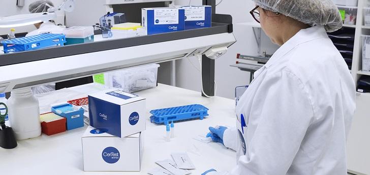 CerTest Biotec: 100 millones de euros en 2020 gracias a los PCR