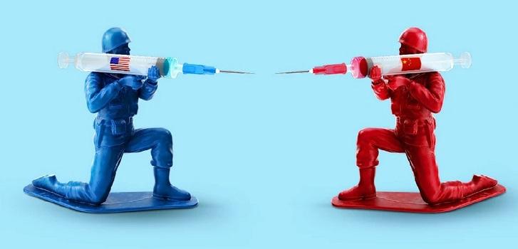 Estados Unidos vs China: la nueva 'guerra fría' por la vacuna del coronavirus