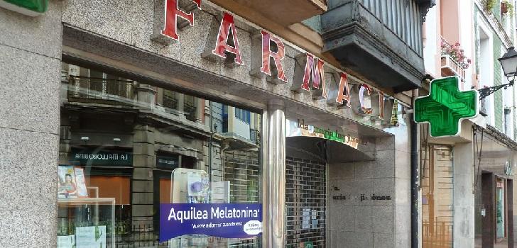 La facturación promedio de las farmacias españolas decreció un 2,9% en el último año