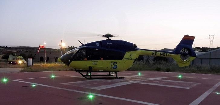 Castilla-La Mancha licita tres nuevas helisuperficies para el transporte sanitario aéreo