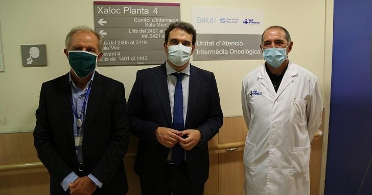 Vall d'Hebron crea una unidad de atención intermediaria oncológica para mejorar la asistencia