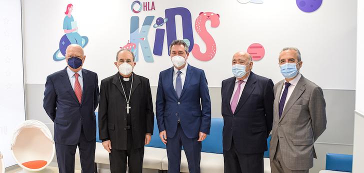 La Clínica HLA Santa Isabel potencia su área de pediatría con nuevas instalaciones